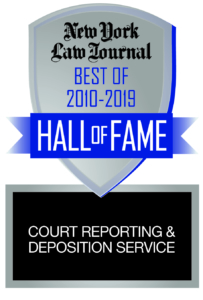NY Law Journal HOF Court Reporting